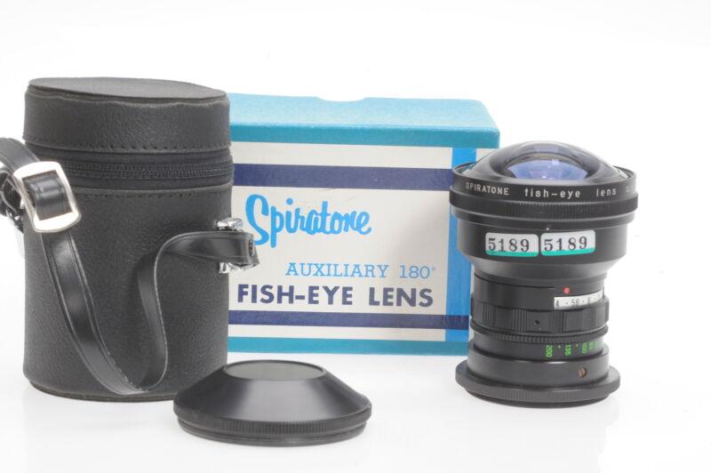 Spiratone 0.15x Fish-Eye Camera Lens Fisheye #189