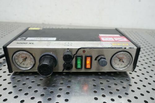EFD 1000 XL Electronic Fluid Liquid Adhesive Dispenser 1000XL 125VAC 100psi