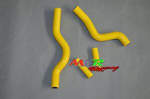 For Suzuki RM250 RM 250 2001-2008 Silicone Radiator Hose yellow
