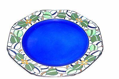 "Art Nouveau Bursley Ware Handpainted 10"" Tube Lined Plate Pattern 532"