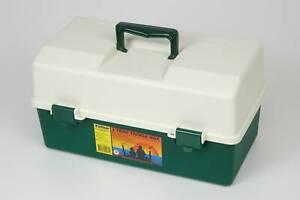 Fischer Plastics 3 Tray Tool Fishing Hobby Craft Box 1H172 New
