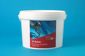 Total alkalinity increase ta plus for pools spas and hottubs ebay Swimming pool high alkalinity