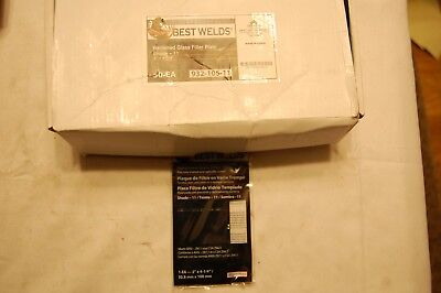 Best Welds Shade 11 Hardened Glass Filter Plate 2 X 4-14 Box Of 50