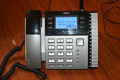 Rca Visys 25450re3 4 Line Business Phone