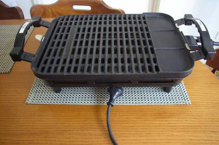 Electric Healthy Gourmet Hotplate BBQ Grill.
