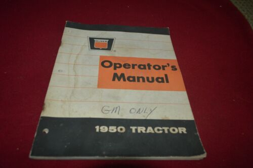 Oliver 1950 Tractor Operator