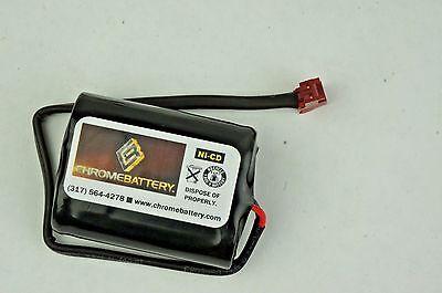 Emergency Lighting Battery 2.4v 1400mah Nicd Replaces Lithonia - Elb2p401n