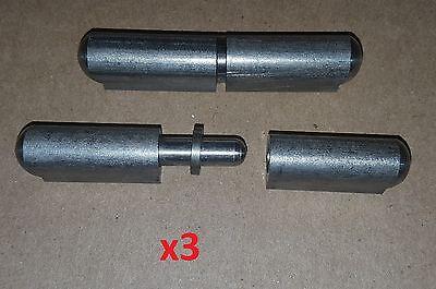 3 Pc 2.37 Stainless Steel Weld Onbullet Hinge Doorboatsheet Metalmachinedy