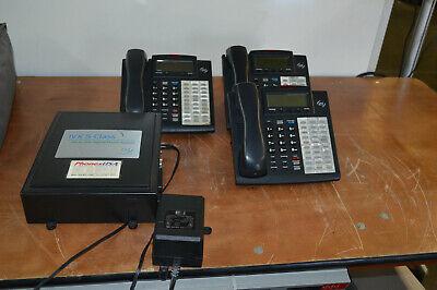 Esi Ivx S-class Phone System W 3x Phones 48 Key H Dfp Ivx 482 Pc 30 Hour Vm