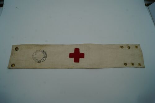 WW2 British Army Medical Service Armband Brassard