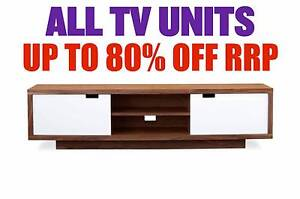TV UNITS - up to 80% OFF RRP Granville Parramatta Area Preview