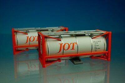 POPONDETTA 8522 20ft Container JOT (orange color) 2 pieces (N Scale) New!!