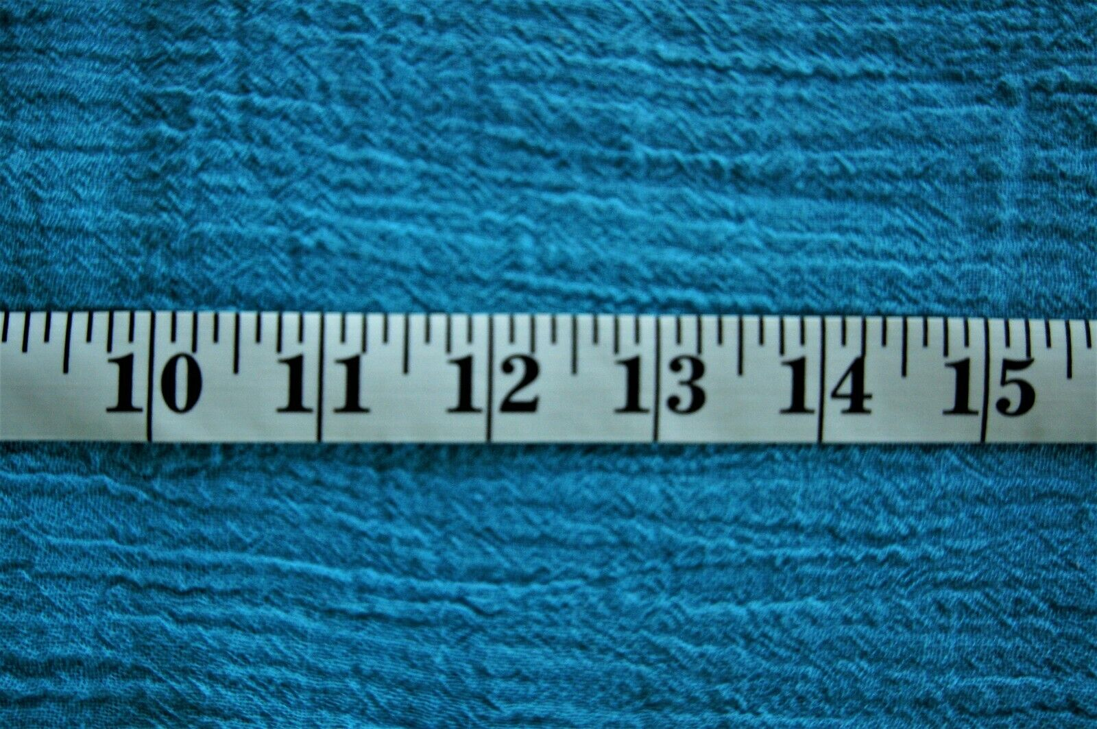 """1+ Yards Turquoise Solid Crepe Fabric 53"""" X 44"""""""