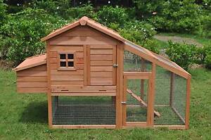 Large Brand Chicken Coop Rabbit Hutch Ferret Cage Hen Chook House Mordialloc Kingston Area Preview