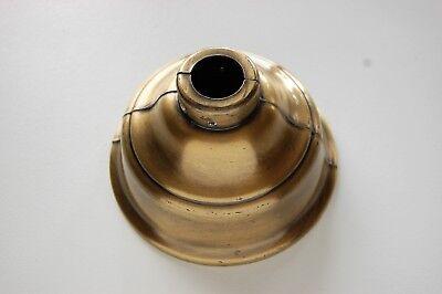 HUNTER ANTIQUE VINTAGE CEILING FAN ORIGINAL  - VERY GOOD CANOPY ANTIQUE BRASS!! (Brass Antique Ceiling Fan)