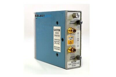 Tektronix Sd-24 Dual Channel Tdr Sampling Head 11801 Csa803a Look Ref 219g