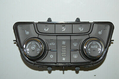 2013-2016 Buick Verano A/C Heater climate control CELSIUS button panel 22944941