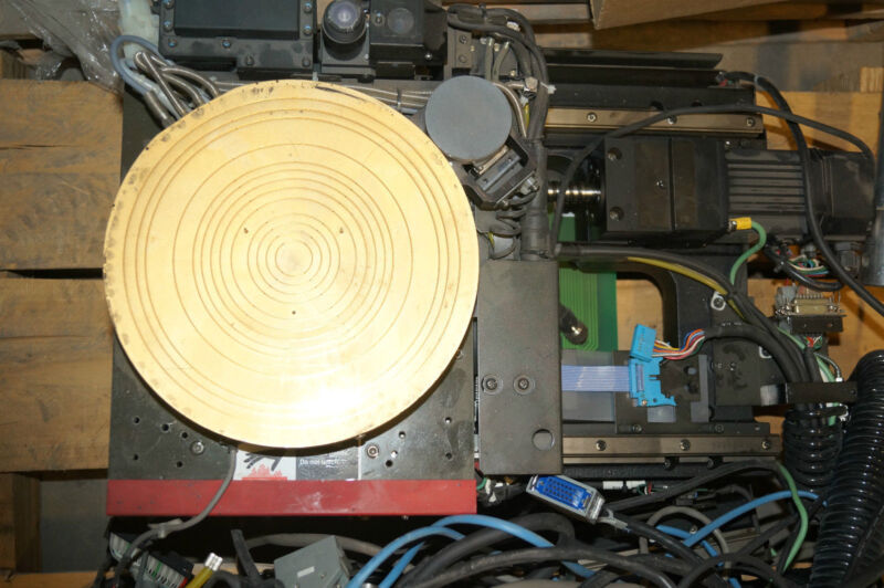 8 INCH X-Y AND THETA WAFER HOLDING STAGE FROM KLA WAFER INSPECTION MACHINES