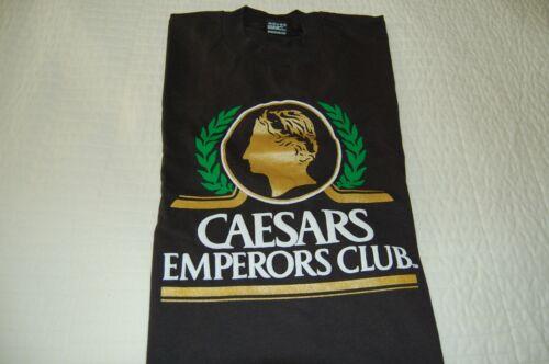 CAESARS Palace CASINO - Vintage Emperors Club  T - SHIRT XL - New