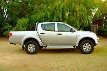 2013 Mitsubishi Triton 4x4 Turbo Diesel Dual Cab Ute Gold Coast South Preview