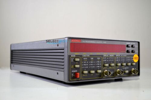 KEITHLEY 776 UNIVERSAL FREQUENCY COUNTER / TIMER 2.4 GHz ***LOOK*** (REF.: 485G)