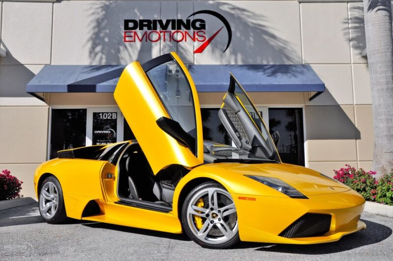Image 1 Voiture Européenne d'occasion Lamborghini Murcielago 2008