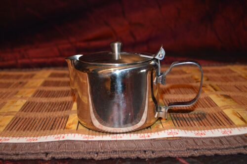 Vintage Gemco Stainless Steel Cream Pitcher Japan