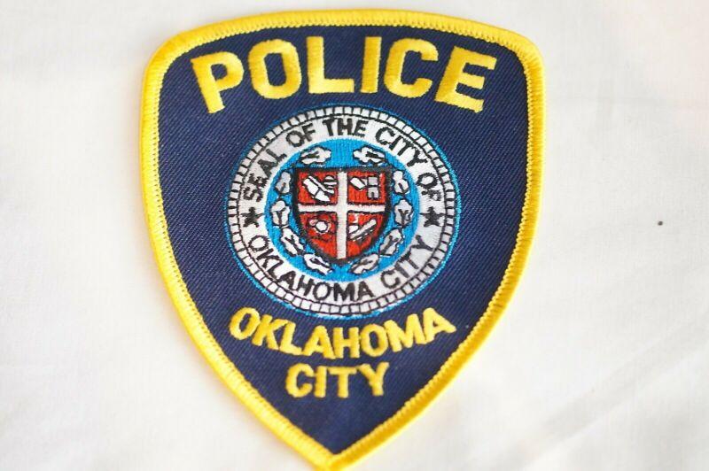 US Oklahoma City Oklahoma Police Patch 1