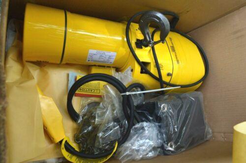 Budgit BEHC 5016 115/220 chain hoist new in box