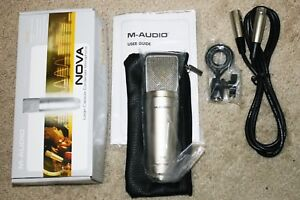 ( BRAND NEW ) M-Audio Nova Condenser Cable Professional Microphone