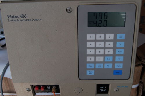 HPLC WATERS MILLIPORE 486 Tunable Absorbance Detector nw  UV Vis
