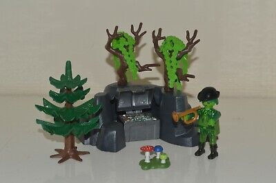 Playmobil Fairy Tale Magic Forest Goblin Ghost Spooky Trees & Rocks Figure Spare