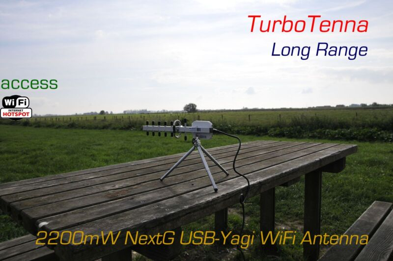 NextG USB-Yagi 802.11n WiFi Antenna High Power and LONG RANGE