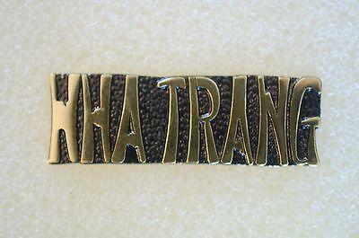 US USA Nha Trang Vietnam Military Hat Lapel Pin