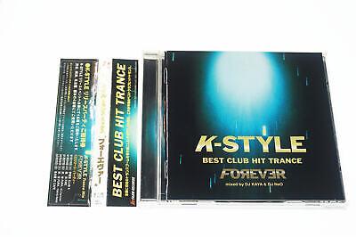 BEST CLUB HIT TRANCE FOREVER MIXED BY DJ KAYA&DJ NEO CD JAPAN OBI