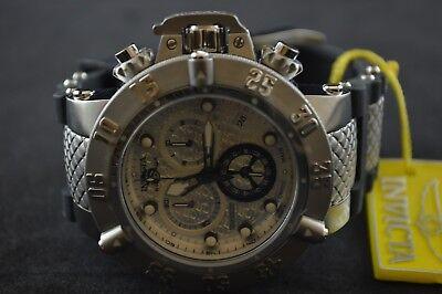 Invicta Subaqua Noma III Chronograph White Dial Men's Watch 14942