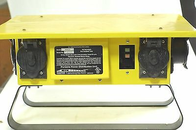 Cep 6506-gu 50 Amp Outdoor Temporary Power Distribution Spider Box New Gfci