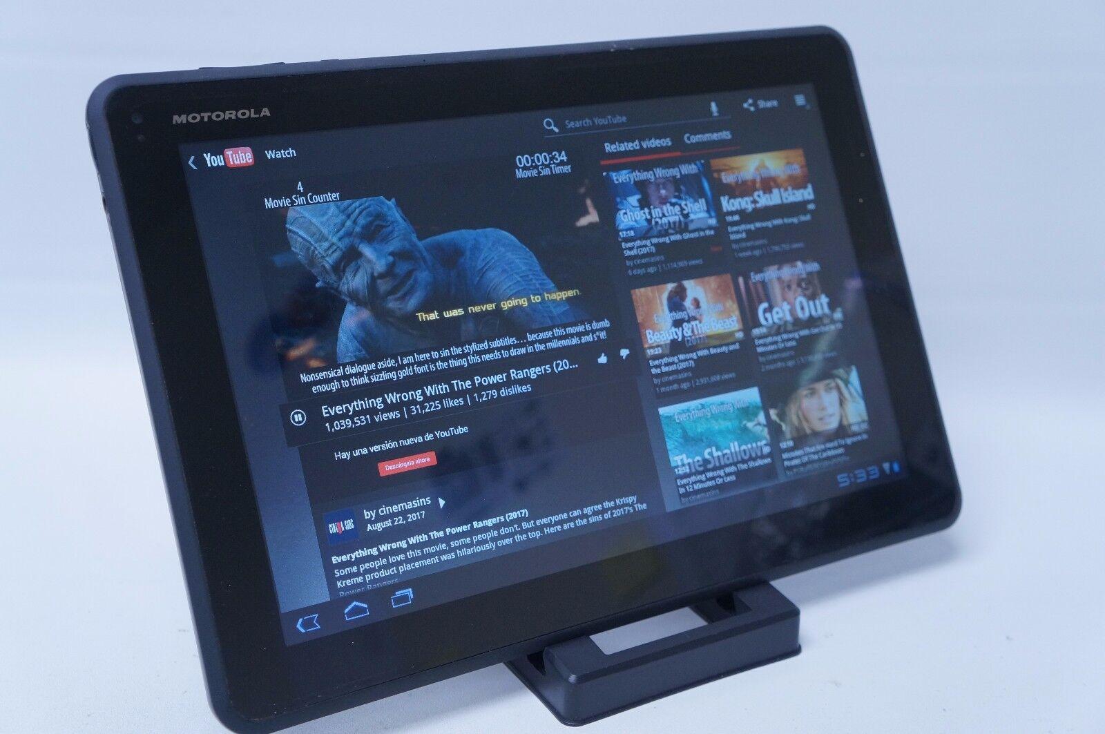 Motorola XOOM Media Edition MZ505 16GB, Wi-Fi, 10.1in - *DEFECTIVE ITEM*
