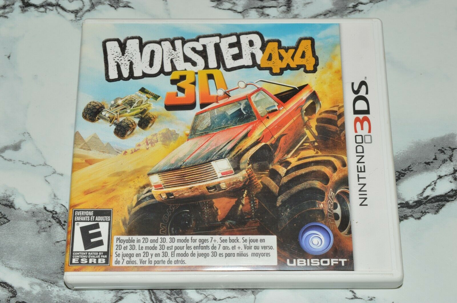 Monster 4x4 3D Nintendo 3DS, 2012 -- Complete W/ Manual - $11.18