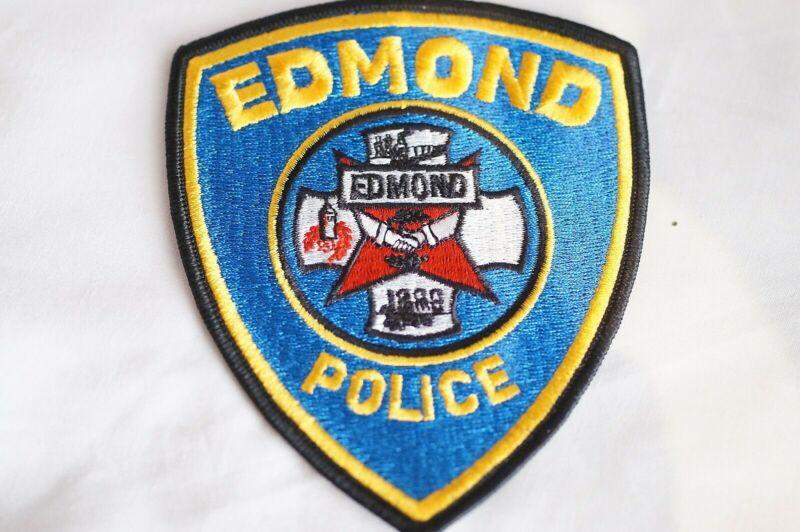 US Edmond Oklahoma Police Patch