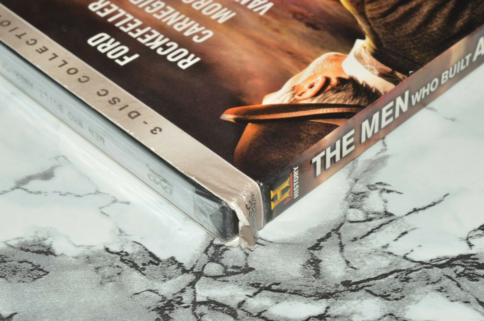 NEW - The Men Who Built America 3-Disc DVD Set -- History Channel -- READ  - $16.91