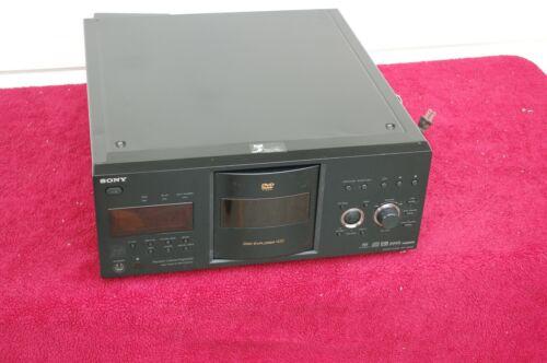 Sony DVP-CX985V 400-Disc Explorer CD / DVD / HDMI /SACDChanger Player-NEW BELTS