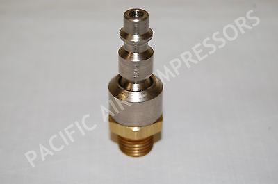 Coil Hose Pneumatics 15-04bs Ball Swivel Connector Air Compressor Parts