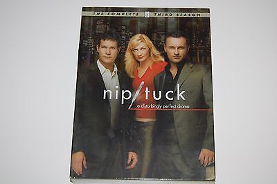 Nip Tuck   Complete Third Season Dvd Set 6 Disc Miami Skyline Three 3 Widescreen
