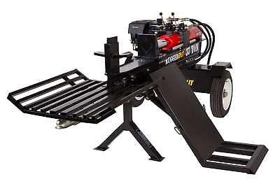 37 Ton Hydraulic Wood Log Splitter Honda Gx390 Gas Engine W Log Lift Catcher