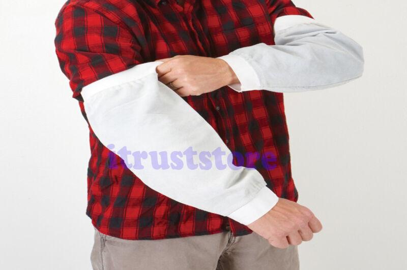 LEATHER GARDENING ARM PROTECTION WELDING SPARK SPLATTER SLEEVES SLEEVE SLEVES