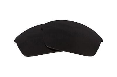 Polarisierte Ersatzgläser für Oakley Flak Jacket Sonnenbrille Kratzfest Schwarz