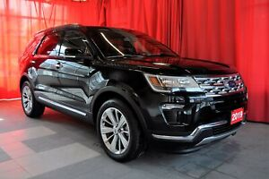 2019 Ford Explorer Limited AWD   Sunroof   Navigation   Leather