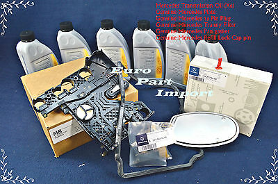 Mercedes Transmission Conductor Plate + Connector + Filter + Gasket + Lock + Oil