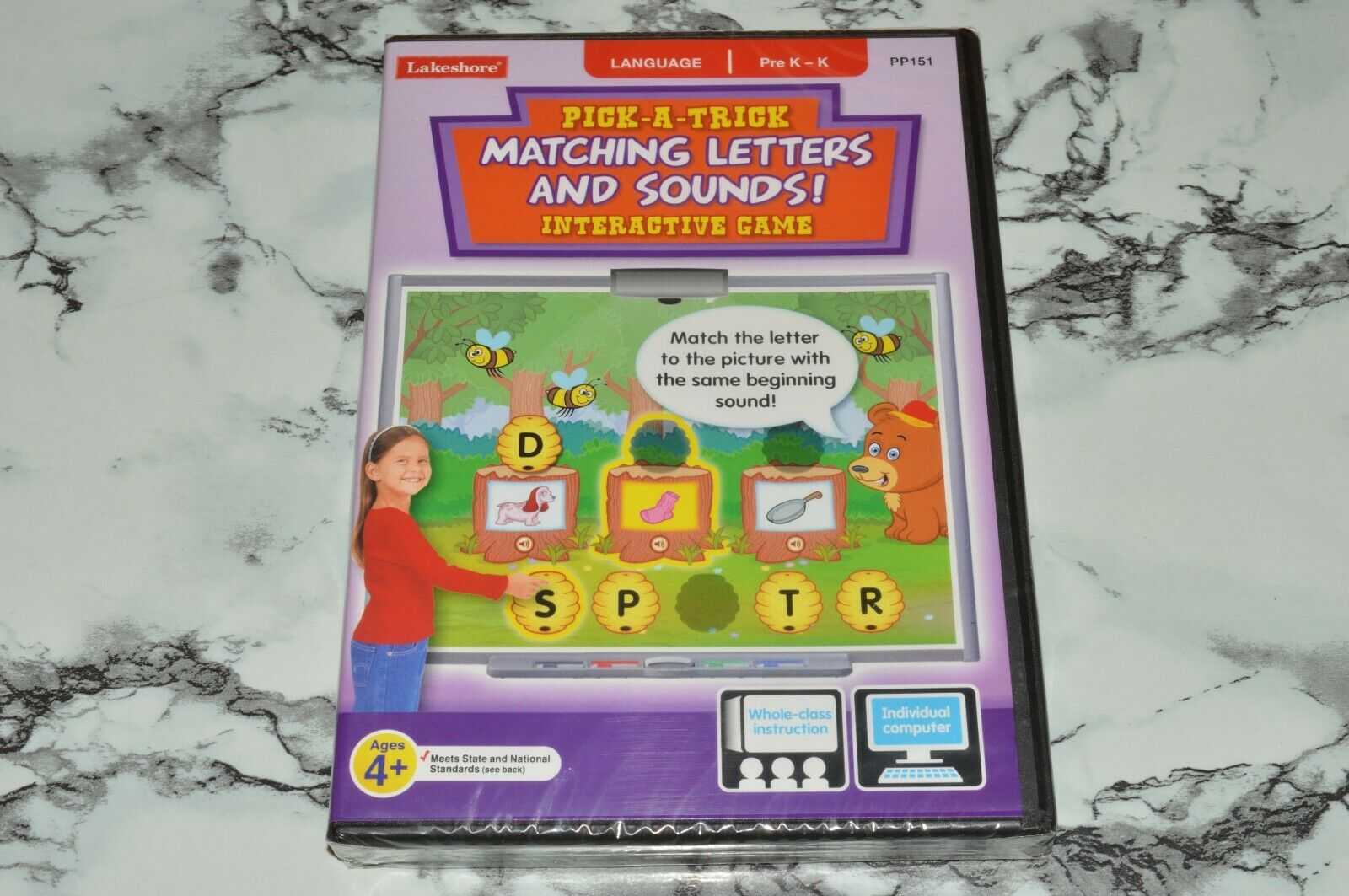 NEW - Lakeshore - Pick-A-Trick - Matching Letters And Sounds PC / MAC CD-ROM  - $12.68